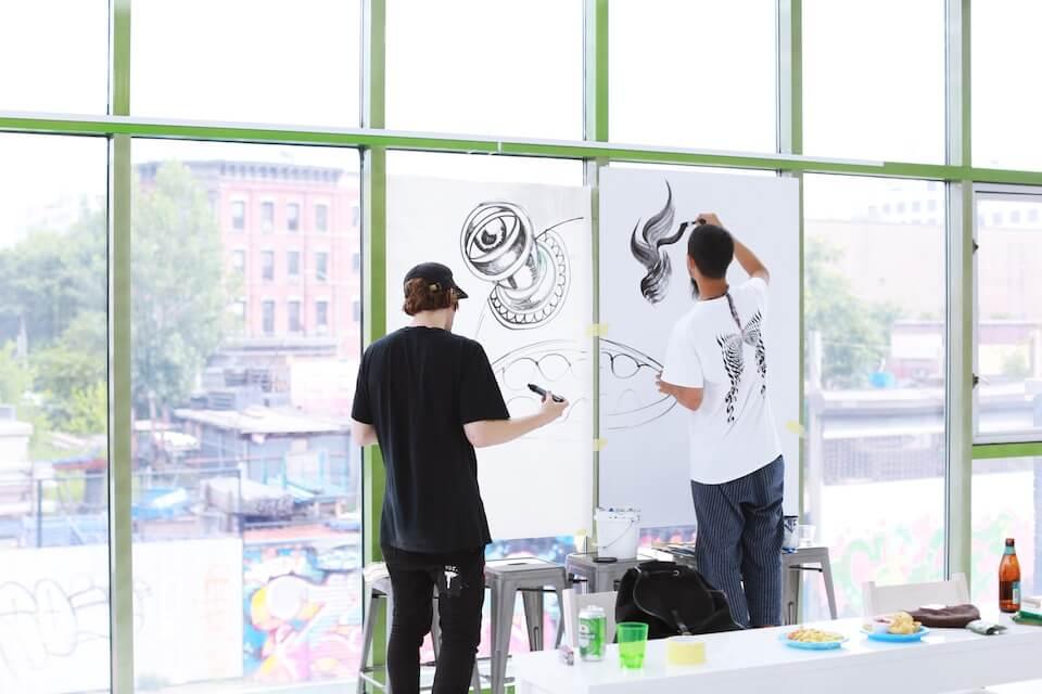 stepbonecut,gallery,brooklyn,art